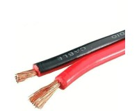 Кабель акустический Premier длина 100м, CCA 2x0, 75мм2, омедненный, красно-черный SCC-RB (25-004)