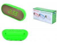 Часы сетевые VST 712Y-4 зеленые цифры, без блока питания