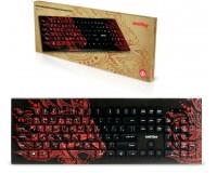 Клавиатура SmartBuy SBK-223U-D-FC Dragon USB Black 104 клавиши, с рисунком