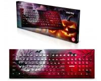 Клавиатура SmartBuy SBK-223U-M-FC Moon USB Black 104 клавиши, с рисунком
