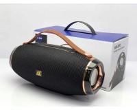 Акустическая система mini MP3 - AK202 10Вт Bluetooth, MP3, FM, microSD, USB, microUSB, AUX 3.5mm, встроенный аккумулятор 1200mA, размер 25 х 8 x 9 см, цветная подсветка, черный