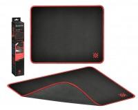 Коврик для мыши Defender Black M игровой 360х270х3мм, термически обработанная ткань, натуральная резина, нескользящее основание