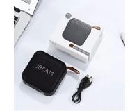 Акустическая система mini MP3 - T5 3.0Вт Bluetooth, MP3, FM, microSD, USB, microUSB, встроенный аккумулятор 3.7V/400мАч встроенный микрофон, размер 9.2х4.6 см, черный