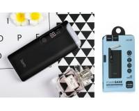 Портативное зарядное устройство HOCO B27 15000 мАч 1USB выход 5В/2А, 2USB выход 5В/1А, черный