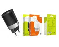Зарядное устройство Borofone BA26A Mighty 2400 mA USB 2хUSB, 5 В, выходной ток: USB1-2, 4А, USB2-2, 4A, общий ток 2, 4А черный, коробка