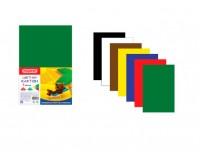 Картон цветной Пифагор 127051 количество цветов в наборе: 7, количество листов: 7, размер А4 200х283 мм, немелованный, плотность картона:200 г/м2, пакет