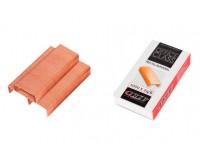 Скобы для степлера LACO НК 24 (225274) размер: №24/6, 1000 скоб в коробочке, количество сшиваемых листов: 30, медное покрытие