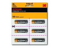 Батарейка Kodak LR3 BL 6x2 XTRALIFE perforated
