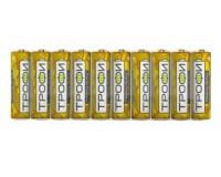 Батарейка Трофи R3 Shrink 10 Heavy DUTY