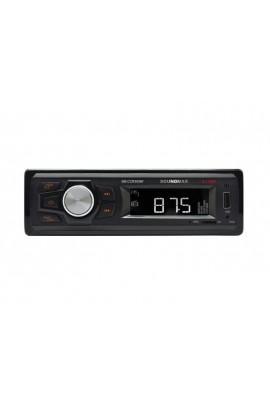 Автомагнитола Soundmax SM-CCR3057F USB/microSD (до 32 ГБ)/AUX/FM, 12В, 1DIN 4x40Вт поддержка WMA, MP3, WAV, OGG, AAC, RA, FLAC, AC3, MP2, коробка