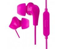 Наушники с микрофоном Perfeo ALPHA PF-A4937 внутриканальные, кабель 1, 2м , сменные насадки, коробка, розовые