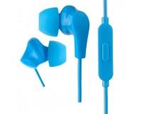 Наушники с микрофоном Perfeo ALPHA PF-A4938 внутриканальные, кабель 1, 2м , сменные насадки, коробка, синие
