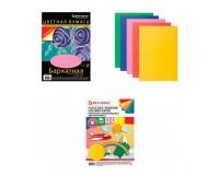 Бумага цветная BRAUBERG 124727 количество цветов в наборе: 5, количество листов: 5, размер А4 210х297 мм, бархатная самоклеящаяся, 110 г/м2