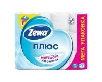 Бумага туалетная ZEWA Plus 144090 спайка 12 шт., 2-х слойная (12х23 м) (124051)