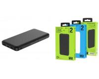 Портативное зарядное устройство Borofone BT20 10000 мАч 1USB выход 5В/2А, 2USB выход 5В/2А, суммарный 5В/2А, черный
