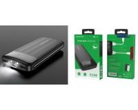 Портативное зарядное устройство Borofone BT21A 20000 мАч 1USB выход 5В/2А, 2USB выход 5В/2А, суммарный 5В/2А, черный