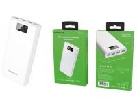 Портативное зарядное устройство Borofone BT2D 30000 мАч 1USB выход 5В/1А, 2USB выход 5В/2А, 3USB выход 5В/2А, суммарный 5В/2А, белый