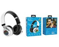 Наушники беспроводные Borofone BO8 Love Song полноразмерные, Bluetooth, коробка, белый