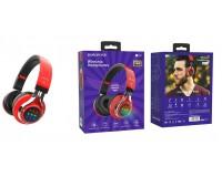 Наушники беспроводные Borofone BO8 Love Song полноразмерные, Bluetooth, коробка, красный