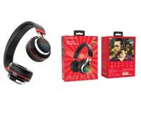 Наушники беспроводные Borofone BO8 Love Song полноразмерные, Bluetooth, коробка, черный