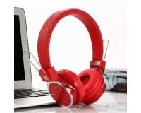 Наушники беспроводные - B05 накладные, Bluetooth, коробка, красный