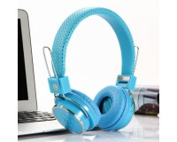 Наушники беспроводные - B05 накладные, Bluetooth, коробка, синий