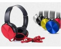 Наушники беспроводные - GF-450 накладные, Bluetooth, коробка, красный