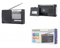 Приемник Haoning HN-317UAT аккумуляторный, AUX/USB/microSD до 32Гб, 3.5mm для наушников, питание: аккумуляторы 18650*1шт (1шт в комплекте) / BL-5C (в комплект не входит)