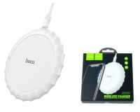 Беспроводное зарядное устройство HOCO CW13 Sensible входной ток: 2А выходной ток: 1А белый, коробка