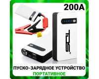 Портативное пуско-зарядное устройство Орбита OT-JS01 Сила тока номинальная: 200 А; максимальная: 400 А адаптер для зарядки от сети 220В и от гнезда прикуривателя, выход 1*USB (5В/2А),