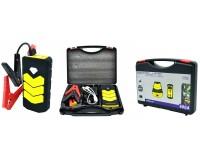 Портативное пуско-зарядное устройство Орбита OT-JS02 Сила тока номинальная: 300 А; максимальная: 600 А адаптер для зарядки от сети 220В и от гнезда прикуривателя, выход 2*USB (5В/2, 1А),