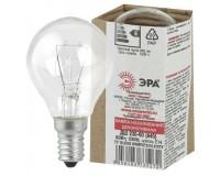 Лампа Эра A45 60Вт E14 шар прозрачный 230V в цветной гофре(ДШ 230-60 Е 14 )