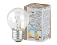 Лампа Эра P45 40Вт E27 шар прозрачный 230V в гофре