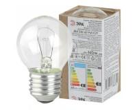 Лампа Эра P45 60Вт E27 шар прозрачный 230V в гофре