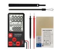 Мультиметр Bside ADMS7 цифровой, 6000 отсчетов, прозвон, автоотключение, автодиапазон, удержание данных, толщина 12 мм