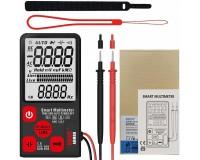 Мультиметр Bside ADMS9 цифровой, 9999 отсчетов, прозвон, автоотключение, автодиапазон, удержание данных, измерение емкости, толщина 12 мм