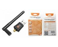 Адаптер Wi-Fi Орбита OT-WD402 802.11b/g/n/ac, до 600 Mb/s, 2, 4G, 5G, антенна