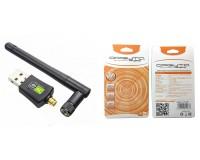 Адаптер Wi-Fi Орбита OT-WD404 802.11b/g/n/ac, до 600 Mb/s, 2, 4G, 5G, антенна