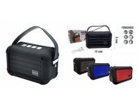 Акустическая система mini MP3 - KMS-E98 5Вт Bluetooth, MP3, FM, microSD, microUSB, AUX-3.5мм встроенный аккумулятор 3.7V/1200 мА размер 13 х 8 х 7 см, цветная