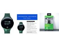 Фитнес браслет Sanda SD02Z Размер: 250х37х15мм. совместимость Android 4.4 и IOS8.5 и выше, Bluetooth 4.0, ЖК-дисплей 0, 66'' сенсорная кнопка, время, шагомер, расстояние, калории, пульс (*), вибросигналы для вызовов, SMS и email