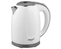 Чайник Atlanta ATH-2427 1800Вт. 1.7л. металл, дисковый White