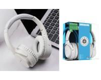 Наушники беспроводные Borofone BO7 Broad sound полноразмерные, Bluetooth, коробка, белый