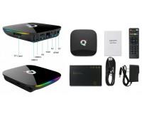 Телевизионная приставка SMART Орбита OT-DVB22 (Q+) Allwinner H6, 4G/32Gb, Android 9.0, 6K, пульт