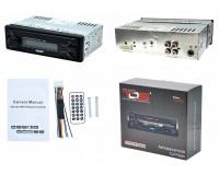 Автомагнитола TDS TS-CR02 USB/microSD (до 32 ГБ)/AUX/FM/Bluetooth, 12В, коробка, съемная панель