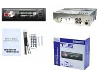 Автомагнитола TDS TS-CAM03 (TS-CR03) USB/microSD (до 32 ГБ)/AUX/FM/Bluetooth, 12В, коробка