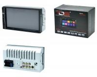Автомагнитола TDS TS-CAM06 (CR06) USB/microSD (до 32 ГБ)/AUX/FM/Bluetooth, 12В, 2DIN, коробка