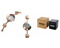 Часы наручные Skmei 1406 золото женские, стрелочные, сталь