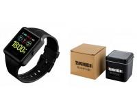Фитнес браслет Skmei 1525 Размер: 250х13х37 мм. Bluetooth 4.0, ЖК-дисплей 1, 3''(240х240) цветной сенсорный, секундомер, время, шагомер, расстояние, калории, пульс (*), монитор сна, вибросигналы для вызовов, SMS и email