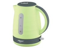 Чайник Atlanta ATH-2375 2000Вт. 1.7л. пластик, дисковый, Green