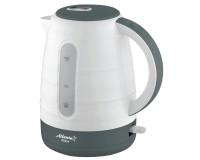 Чайник Atlanta ATH-2375 2000Вт. 1.7л. пластик, дисковый, White